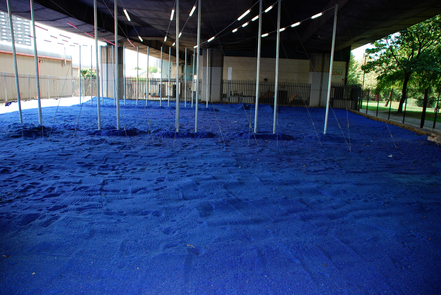 Blue Glassscape - Installations