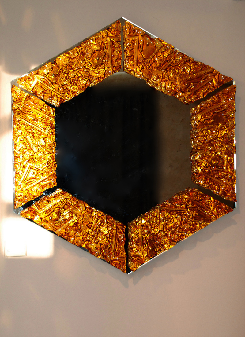 Amber Mirror Vessel Gallery